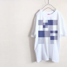 チェック パターン Tシャツ(ハイグレード)