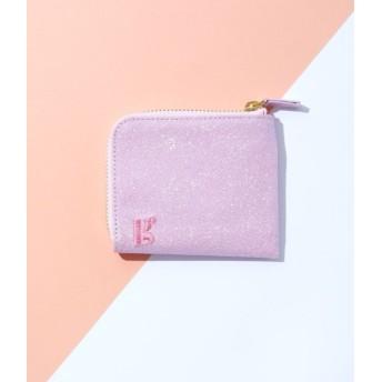 ボンジュールガール/【Bonjour Girl】Glitter Coin Case/ピンク/F