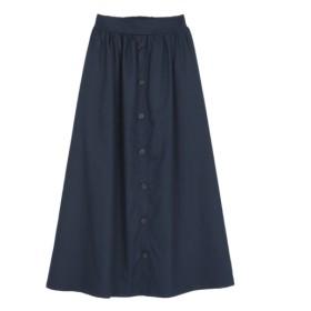 54%OFF titivate (ティティベイト) フロントボタンスカート ネイビー