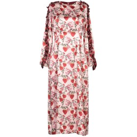 《9/20まで! 限定セール開催中》MOTHER OF PEARL レディース 7分丈ワンピース・ドレス ピンク 10 シルク 100%
