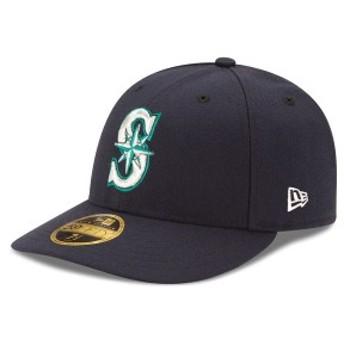 ニューエラ メンズ 帽子 アクセサリー Seattle Mariners New Era Authentic Collection On Field Low Profile Game 59FIFTY Fitted Hat N