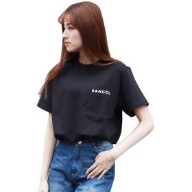 KANGOL HYPE PKT TEE (Lサイズ, ブラック)