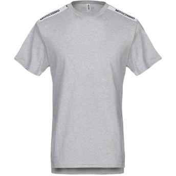 《セール開催中》MOSCHINO メンズ アンダーTシャツ グレー XS コットン 100%