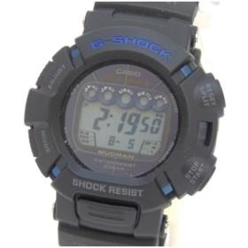 カシオ メンズウォッチ 腕時計 G-SHOCK 25周年記念モデル マスターブルー MUDMAN GW-9025C-1JF 黒 【中古】(47810)