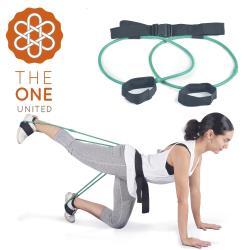 The One 瑜珈健身 專業臀腿阻力訓練器-30磅(綠色)