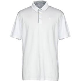 《セール開催中》GRAN SASSO メンズ ポロシャツ ホワイト 52 コットン 100%