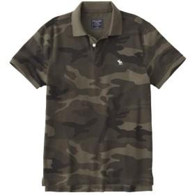 [アバクロンビー & フィッチ] メンズ ポロシャツ (半袖) CAMO ICON POLO カモフラージュ (USA基準) S [並行輸入品]