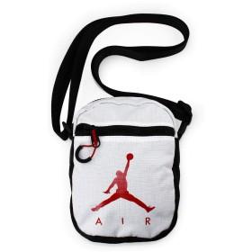 (ジョーダンブランド) JORDAN BRAND【JUMPMAN AIR FESTIVAL CROSSBODY BAG】 ウエストバッグ ポーチ WAIST BAG 肩掛け サコッシュ (ホワイト-WHITE-) [並行輸入品]