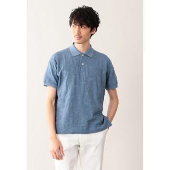 MACKINTOSH PHILOSOPHY リンクスカモフラ ポロシャツ ポロシャツ,ブルー