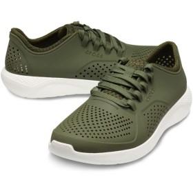 【クロックス公式】 ライトライド ペイサー メン Men's LiteRide Pacer メンズ、紳士、男性用 グリーン/緑 25cm,26cm,27cm,28cm,29cm shoe 靴 シューズ