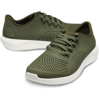 【クロックス公式】 ライトライド ペイサー メン Men's LiteRide Pacer メンズ、紳士、男性用 グリーン/緑 25cm,26cm,28cm shoe 靴 シューズ 20%OFF