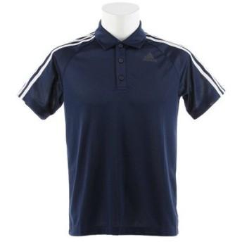 アディダス(adidas) D2M トレーニング3ストライプポロシャツ BVA63-BP7224 (Men's)