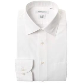 (ザ・スーツカンパニー) SUPER EASY CARE/ワイドカラードレスシャツ 織柄 〔EC・FIT〕 ホワイト 39