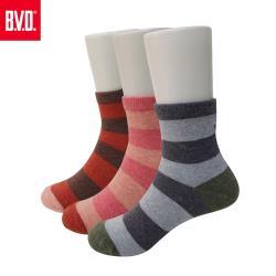【BVD】條紋海錨3/4童襪4雙組(B258.B259童襪)