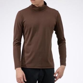 MIZUNO SHOP [ミズノ公式オンラインショップ] ドライベクターボーダーハイネックシャツ[メンズ] 55 ブラウン B2JA9604