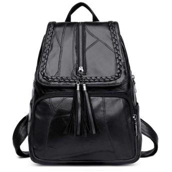 PUレザリュック バックパック 女性ナイロンの軽い急性ショルダーバッグバッグバッグバッグ