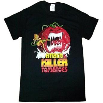 ATTACK OF THE KILLER TOMATOES アタック・オブ・ザ・キラー・トマト Tシャツ 正規品 映画Tシャツ (S)
