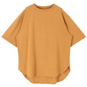 10%OFF titivate (ティティベイト) オーバーサイズTシャツ キャメル