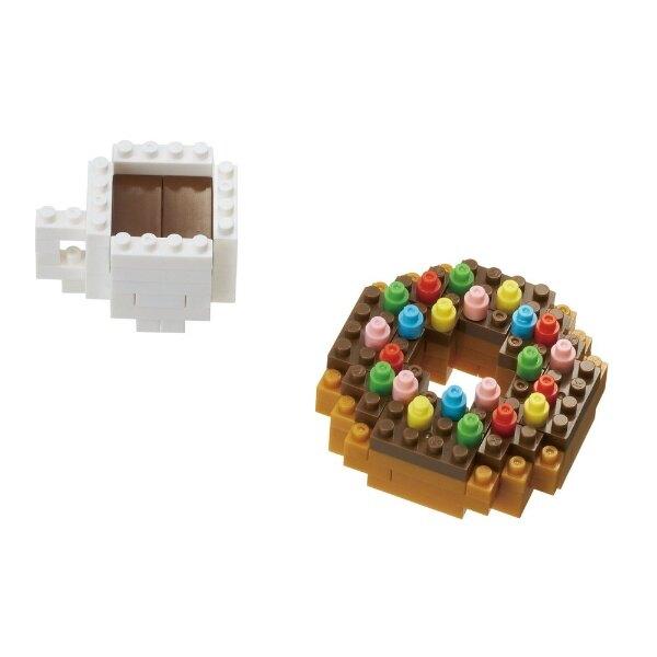 《Nanoblock 迷你積木》 NBC-246 甜甜圈 & 咖啡 東喬精品百貨