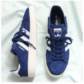 アトモス adidas Originals CAMPUS Dark Blue/Running White/Chalk White メンズ ブルー系1 23.0cm 【atmos】