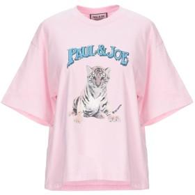 《セール開催中》PAUL & JOE レディース T シャツ ピンク 1 コットン 100%