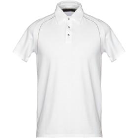 《セール開催中》VNECK メンズ ポロシャツ ホワイト M 95% コットン 5% ポリウレタン