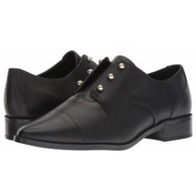Nine West ナインウエスト レディース 女性用 シューズ 靴 ローファー ボートシューズ Wearable Black Leather【送料無料】