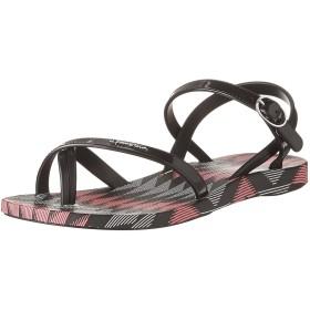 Ipanema Fiesta V Kids Flip Flops/Sandals-Black-20.5