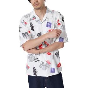 [チャオ] ciao 50'sオープンカラーシャツ 29-462 10WHITE M