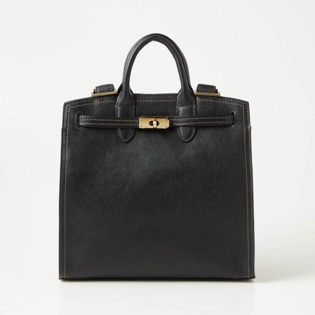 バッグ カバン 鞄 レディース リュック レザーリュックサック カラー 「ブラック」