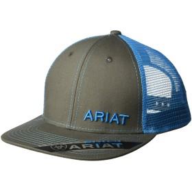 Ariatメンズメッシュスナップバック帽子 カラー: ブルー