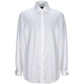 《期間限定 セール開催中》GIORGIO ARMANI メンズ シャツ ホワイト 39 コットン 100%