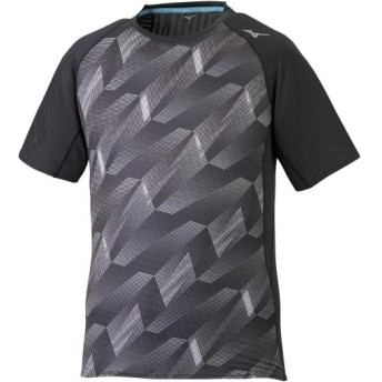 MIZUNO SHOP [ミズノ公式オンラインショップ] ランニングTシャツ[メンズ] 09 ブラック J2MA9501