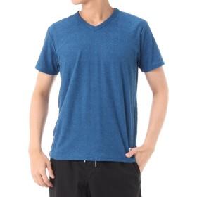 [アズールバイマウジー] Tシャツ スラブパイルVネック半袖T 251BST80-505D メンズ ブルー M