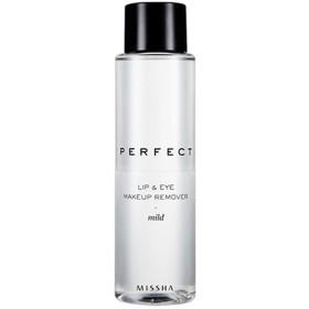 【Missha ミシャ】 Perfect Lip and Eye Makeup Remover リップ&アイ メイクアップリムーバー ポイント用メイク落とし #マイルド