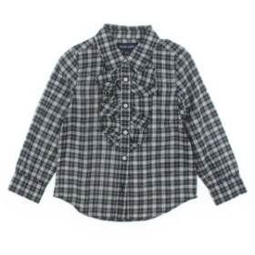 RALPH LAUREN  / ラルフローレン キッズ シャツ 色:深緑x白x黄等(チェック) サイズ:100