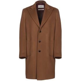 《期間限定セール開催中!》PALT メンズ コート キャメル 48 バージンウール 90% / カシミヤ 10%