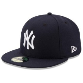 ニューエラ メンズ 帽子 アクセサリー New York Yankees New Era Game Authentic Collection On-Field 59FIFTY Fitted Hat Navy
