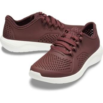 【クロックス公式】 ライトライド ペイサー ウィメン Women's LiteRide Pacer ウィメンズ、レディース、女性用 レッド/赤 22cm,23cm,24cm,25cm shoe 靴 シューズ