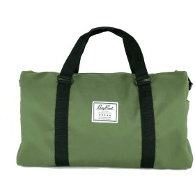 [BayRoot] ボストンバッグ トラベルバッグ 旅行バッグ 旅行かばん 大容量 軽量 撥水 キャリーオン 修学旅行 アウトドア 緑 ( グリーン )
