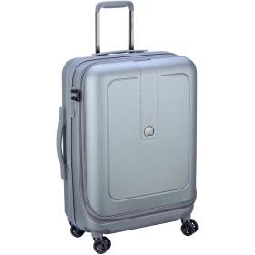 Delsey デルセー GRENELLE スーツケース キャリーケース 容量拡張可能 中型 軽量 条件付き5年保証 62L+8L&グレー