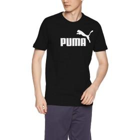 [プーマ] トレーニングウェア ESS ロゴ 半袖 Tシャツ 851740 [メンズ] ブラック (01) 日本 L (日本サイズL相当)