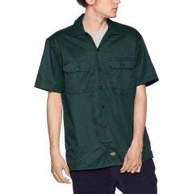 Dickies(ディッキーズ) 半袖ワークシャツ 1574 ハンターグリーン(GH) 2XL