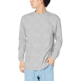 [プリントスター] 7.4オンス HVL スーパーヘビー 長袖 Tシャツ 00149-HVL 杢グレー 日本 2XL (日本サイズ3L相当)