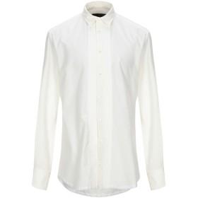 《期間限定セール開催中!》TOM REBL メンズ シャツ アイボリー 50 コットン 95% / ポリエステル 5%