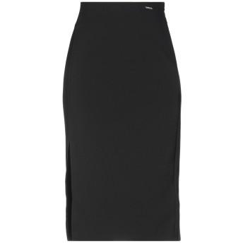 《期間限定セール開催中!》GUESS レディース 7分丈スカート ブラック S ポリエステル 88% / ポリウレタン 12%