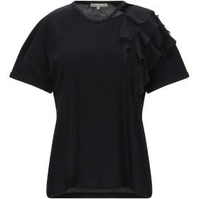 《期間限定セール開催中!》PATRIZIA PEPE レディース T シャツ ブラック 0 コットン 100%