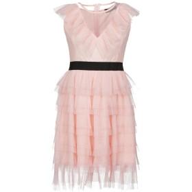 《セール開催中》VANESSA SCOTT レディース ミニワンピース&ドレス ピンク L ポリエステル 100%