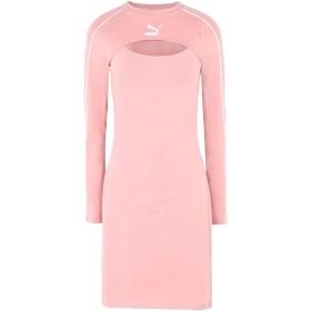 《期間限定セール開催中!》PUMA レディース ミニワンピース&ドレス ピンク XS コットン 95% / ポリウレタン 5% Classics Dress