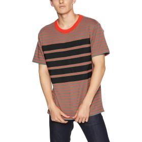 (ディーゼル) DIESEL メンズ Tシャツ ボーダーTシャツ 00SMAZ0EAUR S ブラック×ブルー 5HZ